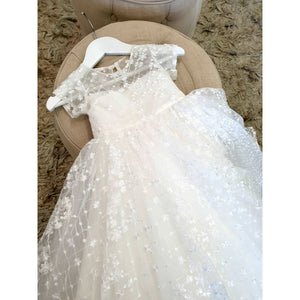 Rosa lace Christening dress