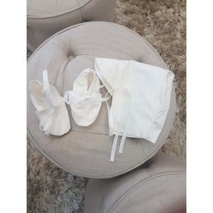 Custom made 2 piece Boys Christening set