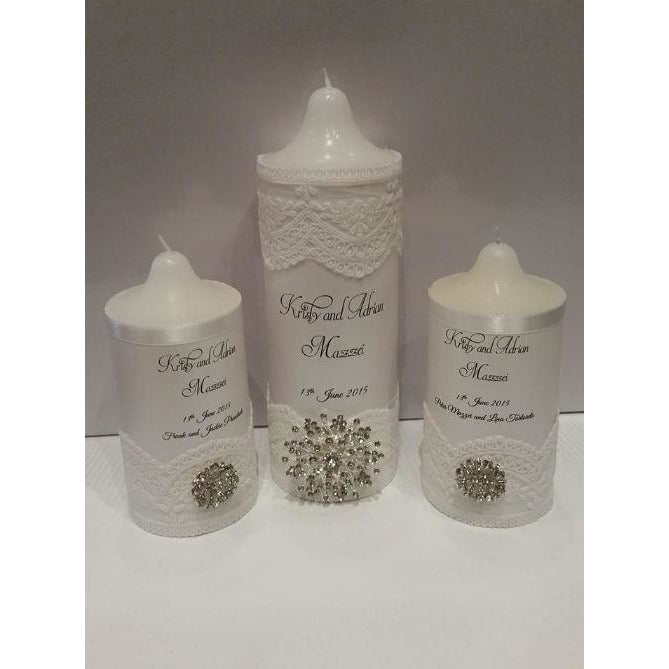 Custom Made Celebration Candles