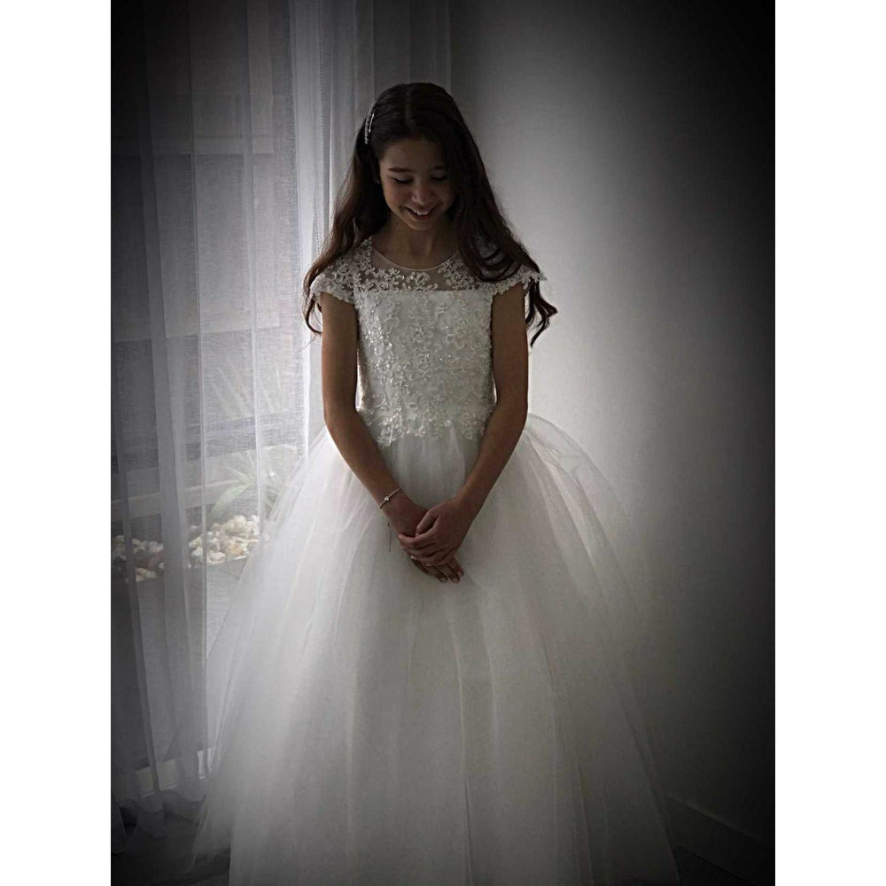 Tyla sequins bodice Flower Girl / Communion Dress