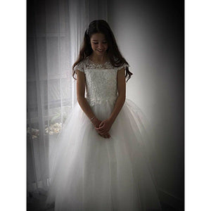 Load image into Gallery viewer, Tyla sequins bodice Flower Girl / Communion Dress