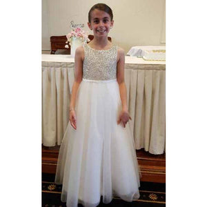 Sienna diamante flower girl / communion