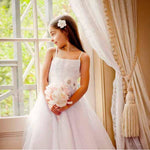 Grace Dress with tulle skirt