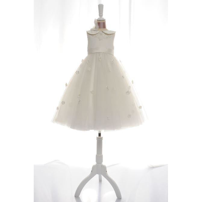 Hand crafted custom made communion gown