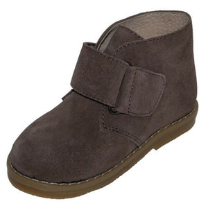 Luca boots with Velcro strap - Brown