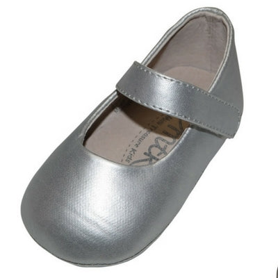 Sandy Mary Jane baby shoe - Silver