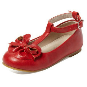 girls dress leather shoes