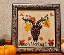 Load image into Gallery viewer, Satan's Seasons-Autumn DIGITAL Cross Stitch PATTERN