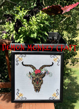 Load image into Gallery viewer, Satan's Seasons-Summer DIGITAL Cross Stitch Pattern