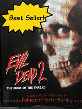 Load image into Gallery viewer, Evil Dead 2: The Book of the Thread, Cross Stitch Pattern Book