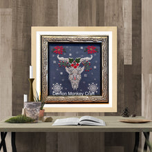 Load image into Gallery viewer, Satan's Seasons-Winter DIGITAL Cross Stitch Pattern
