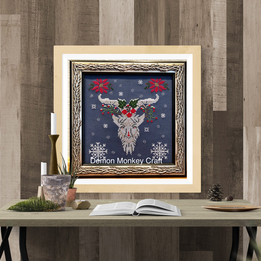 Satan's Seasons-Winter DIGITAL Cross Stitch Pattern