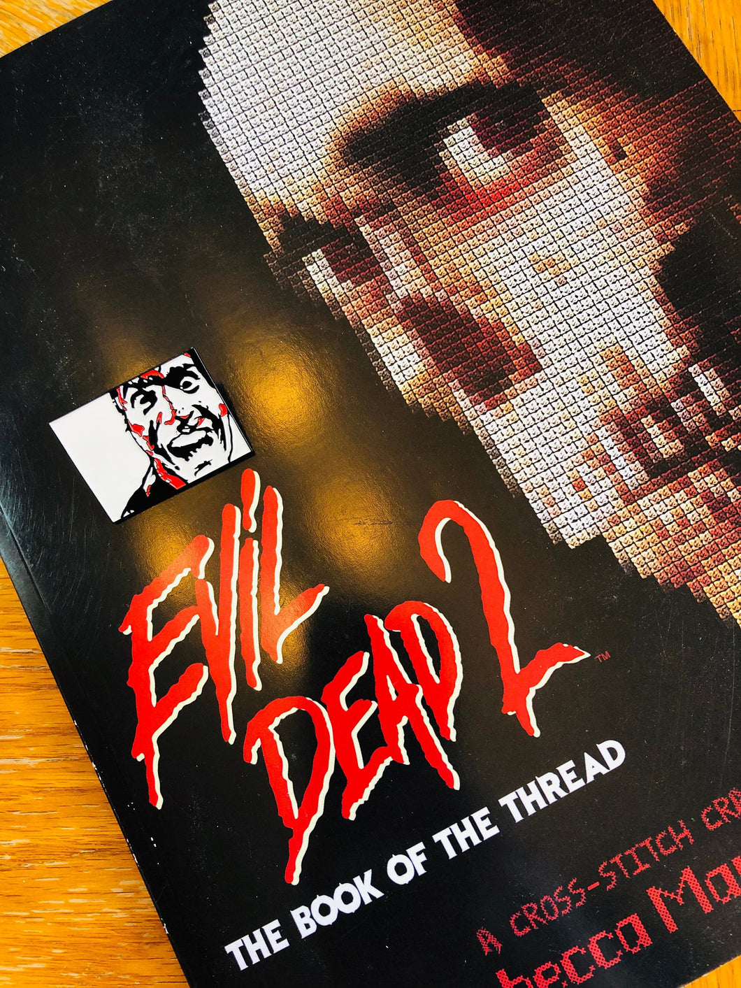 Evil Dead 2: The Book of the Thread, Cross Stitch Pattern Book