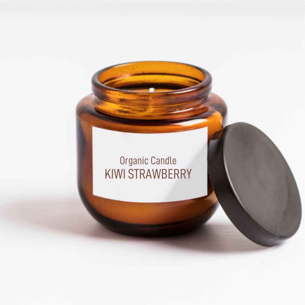 Organic Candle-Kiwi Strawberry