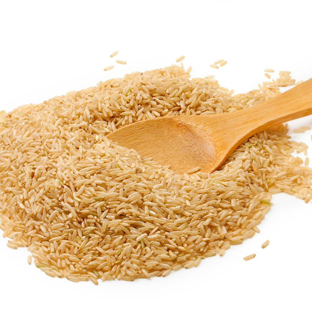 organic basmati rice brown