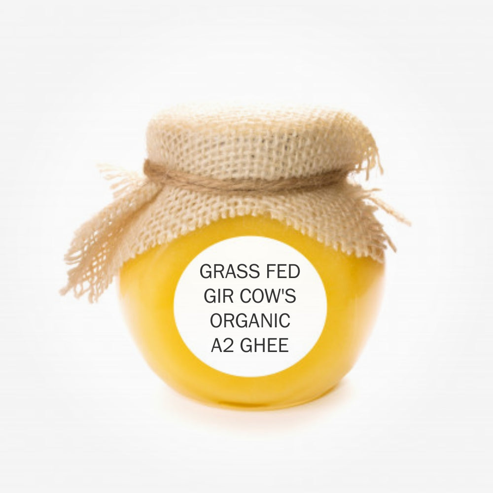Grass Fed Gir Cow's Organic A2 Ghee