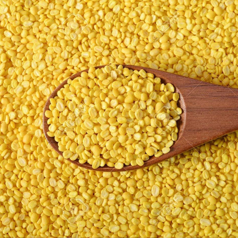 organic moong dal ( yellow )