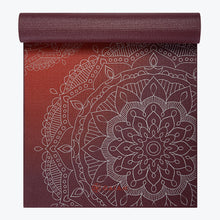 Load image into Gallery viewer, Premium Metallic Sunset Yoga Mat (6mm)