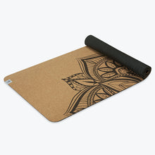 Load image into Gallery viewer, Perfomance Mandala Cork Yoga Mat (5mm)