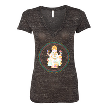 Load image into Gallery viewer, YYS - Women's V-Tee - Ganesha