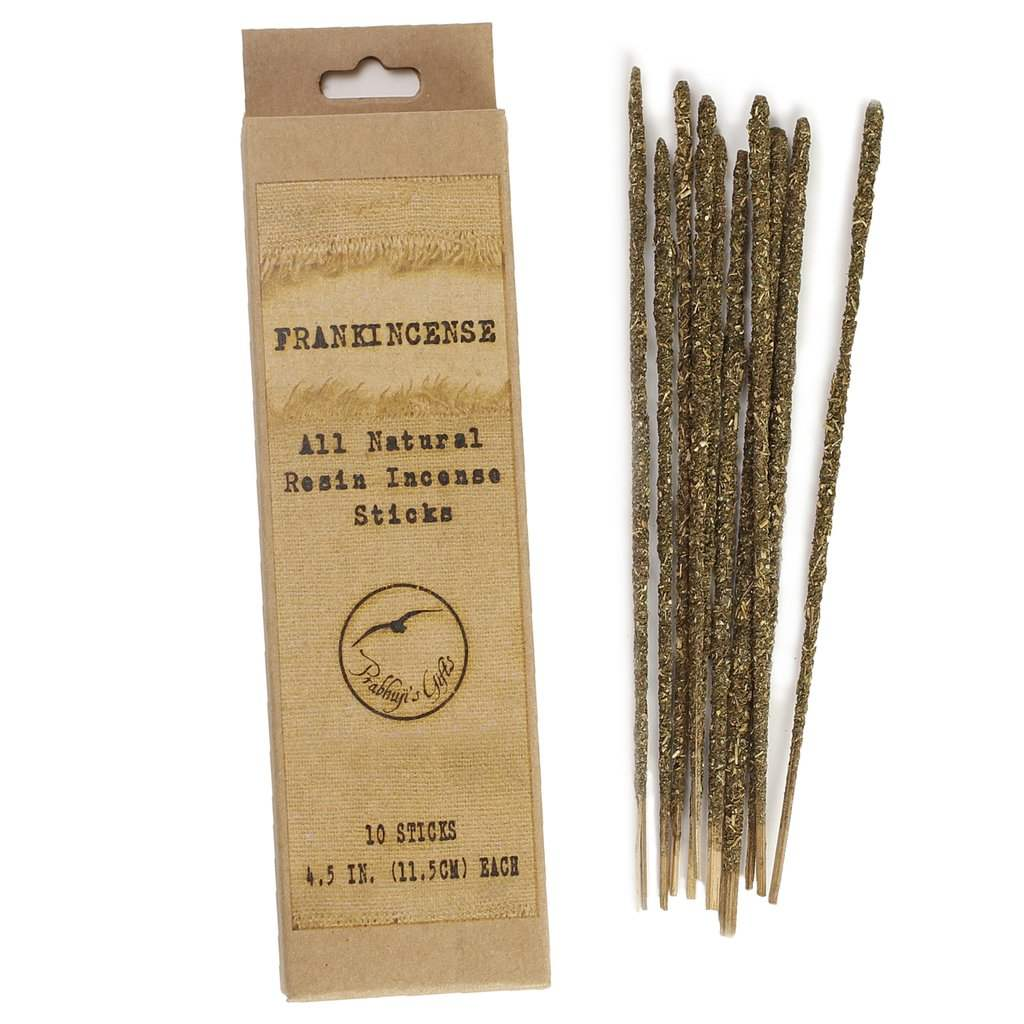 Smudging Incense - Natural Resin Incense Sticks - Frankincense