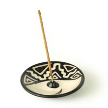 Load image into Gallery viewer, Incense Burner - Peruvian Ceramic Incense Burner for Stick Incense
