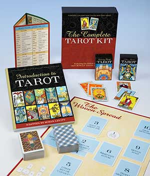 Complete Tarot Kit Deck and Book by Susan Levitt