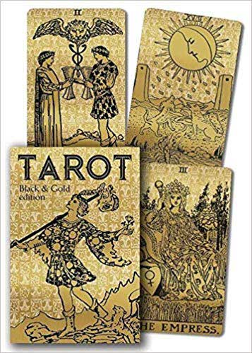 Tarot Black and Gold London 1909 with box