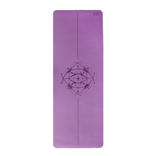 Load image into Gallery viewer, Core Yoga Mat with Body Alignment - 3mm French Lavender