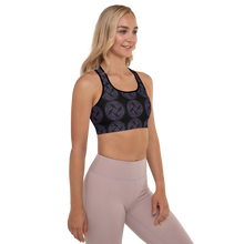Load image into Gallery viewer, YYS Padded Sports Bra - Animalia Lizards
