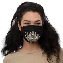 Load image into Gallery viewer, YYS - Premium face mask - OutSpiral Gold Lotus