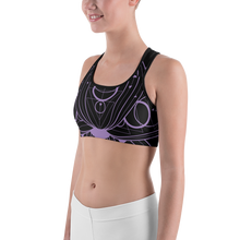 Load image into Gallery viewer, YYS Sports Bra - OutSpiral Lotus