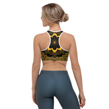 Load image into Gallery viewer, YYS Sports Bra - OutSpiral Sun