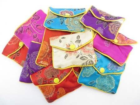 Crystal Meditation Pouches