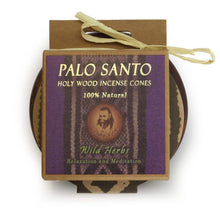 Load image into Gallery viewer, Palo Santo Wild Herbs Cones with Burner