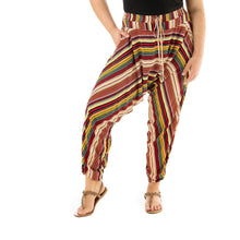 Load image into Gallery viewer, Striped Harem Pants