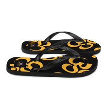 Load image into Gallery viewer, YYS - Flip-Flops Yellow Om