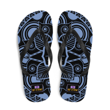 Load image into Gallery viewer, YYS - Flip-Flops Blue Mandala