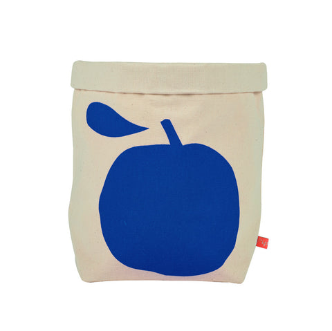 La Pomme Storage Basket - Cobalt Blue