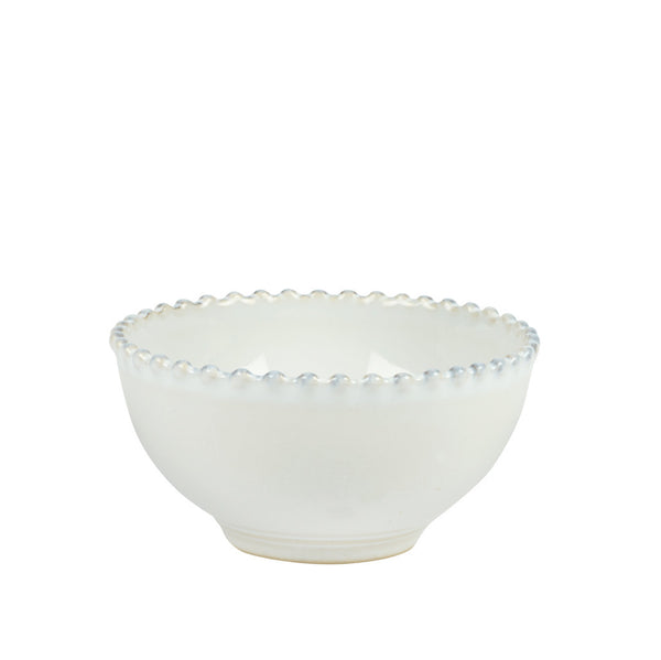 Small White Bobbled Bowl