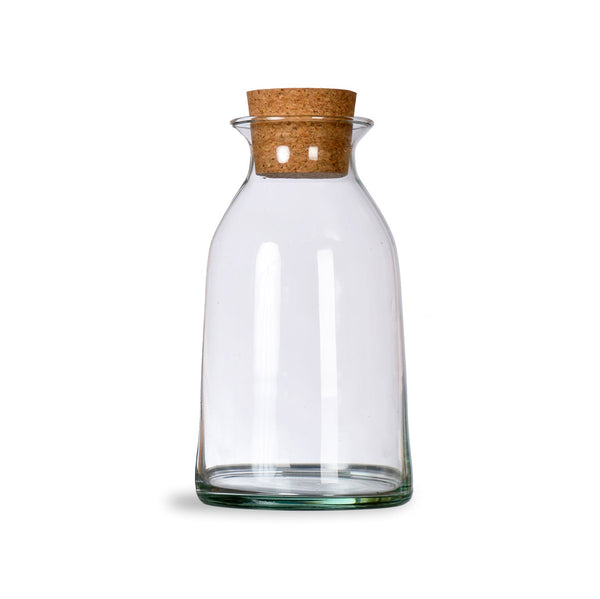 Recycled Glass Bottles (Set of 2)