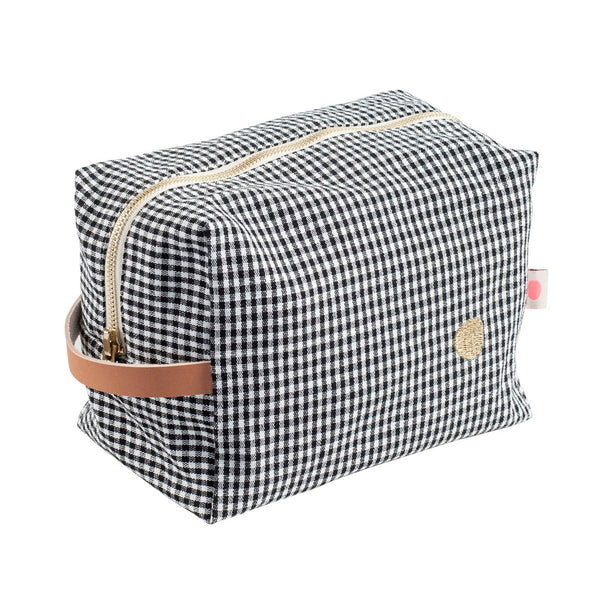 Large Washbag - Checked