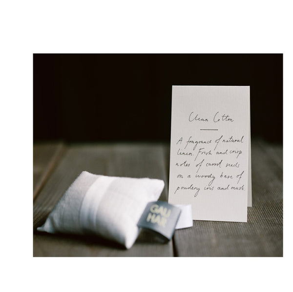 Linen Scented Sachet : Clean Cotton