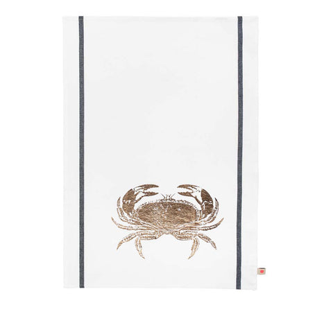 Copper Crab Tea Towel