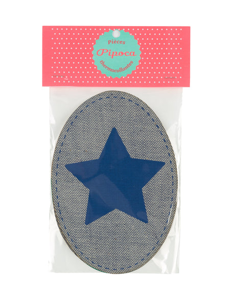 Dark Pink & Aubergine Star Patch