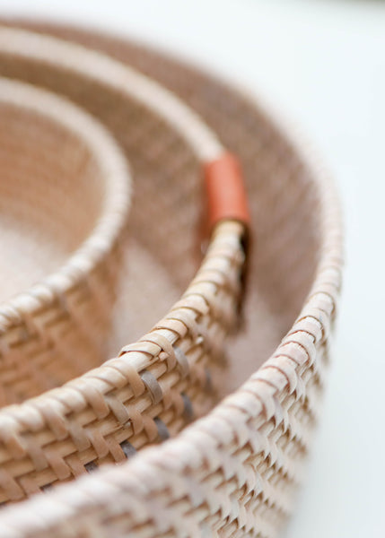 Rattan Basket Trays
