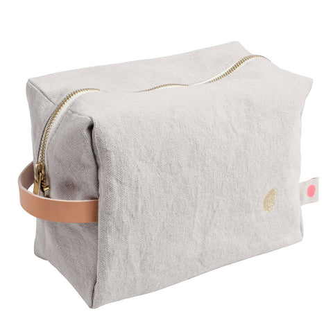 Large Washbag - Light Grey