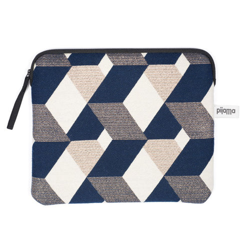 Geometric Macbook Zip Case
