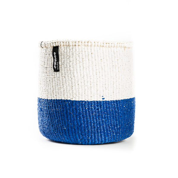 Blue and White Basket