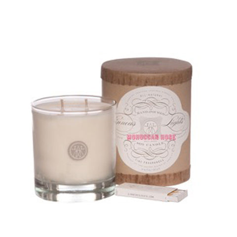 Linneas Moroccan Rose Candle